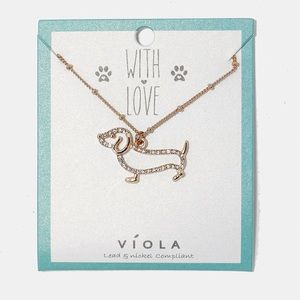 🖤 Coming Soon 🖤 Adorable Dachshund Necklace